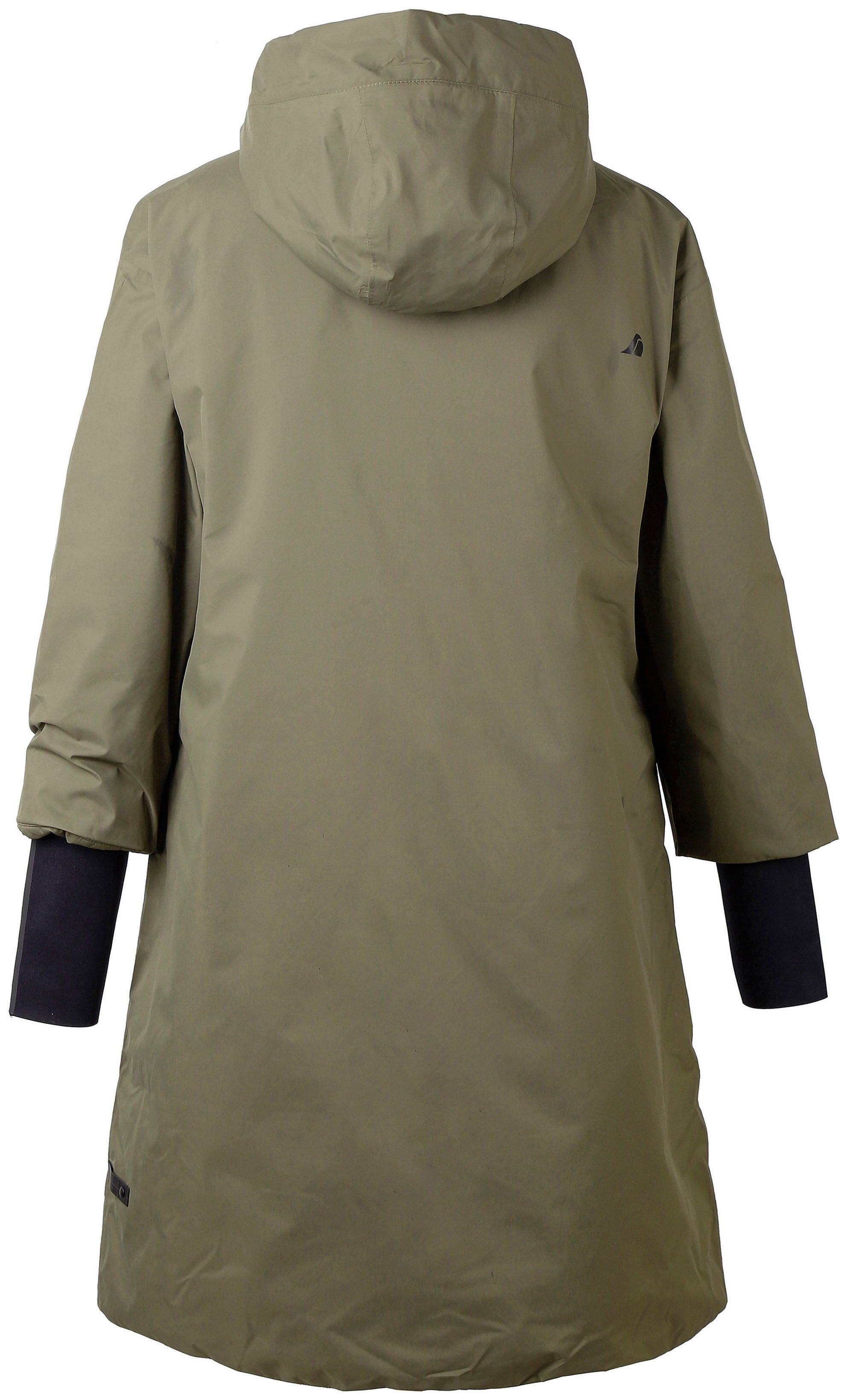 Details about DIDRIKSONS 1913 Womens StormSystem Waterproof Outdoor Hooded Trench Jacket sz 40