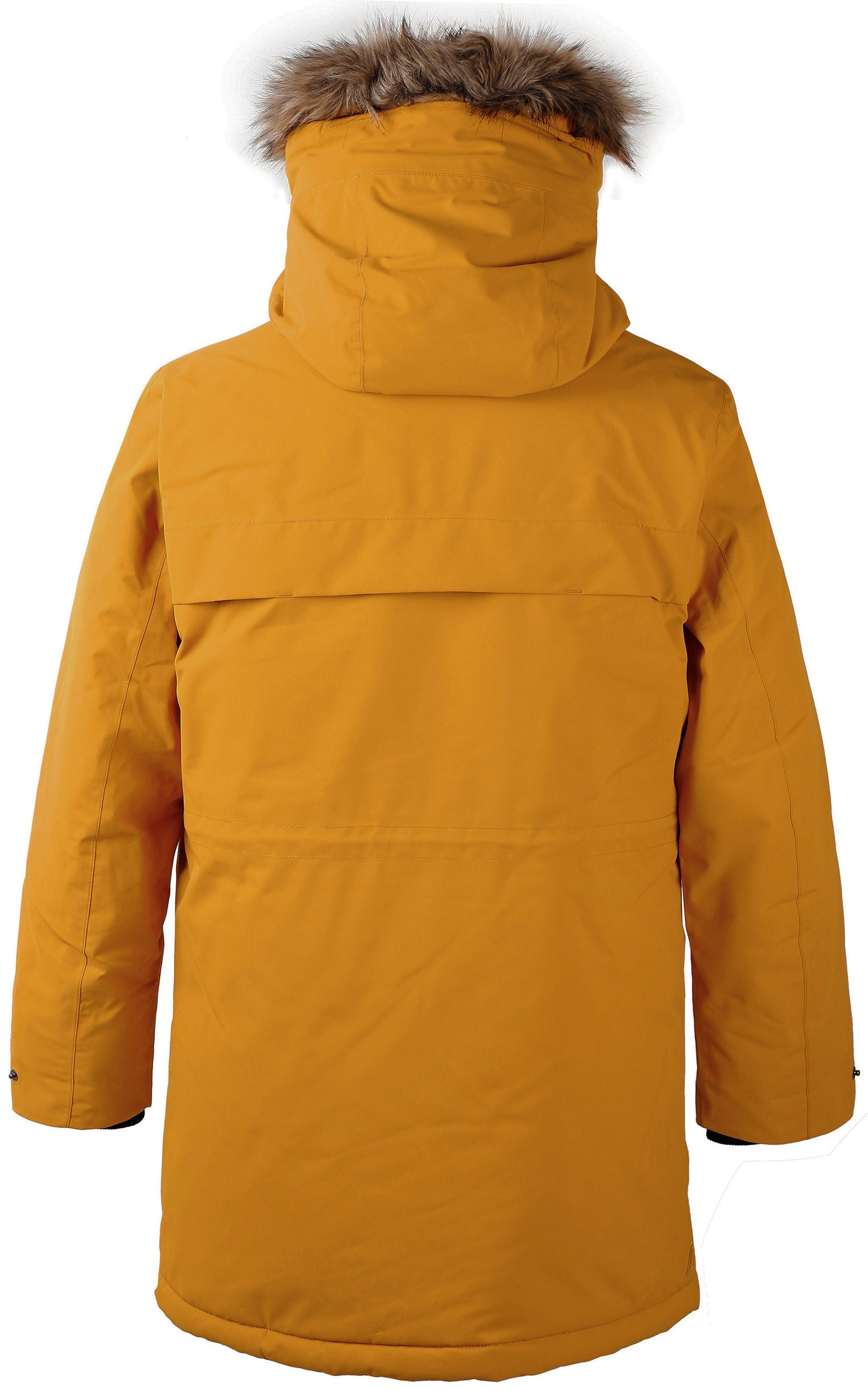 WINTER SALE Didriksons Reidar USX Parka 2 Jacket Yellow Ochre
