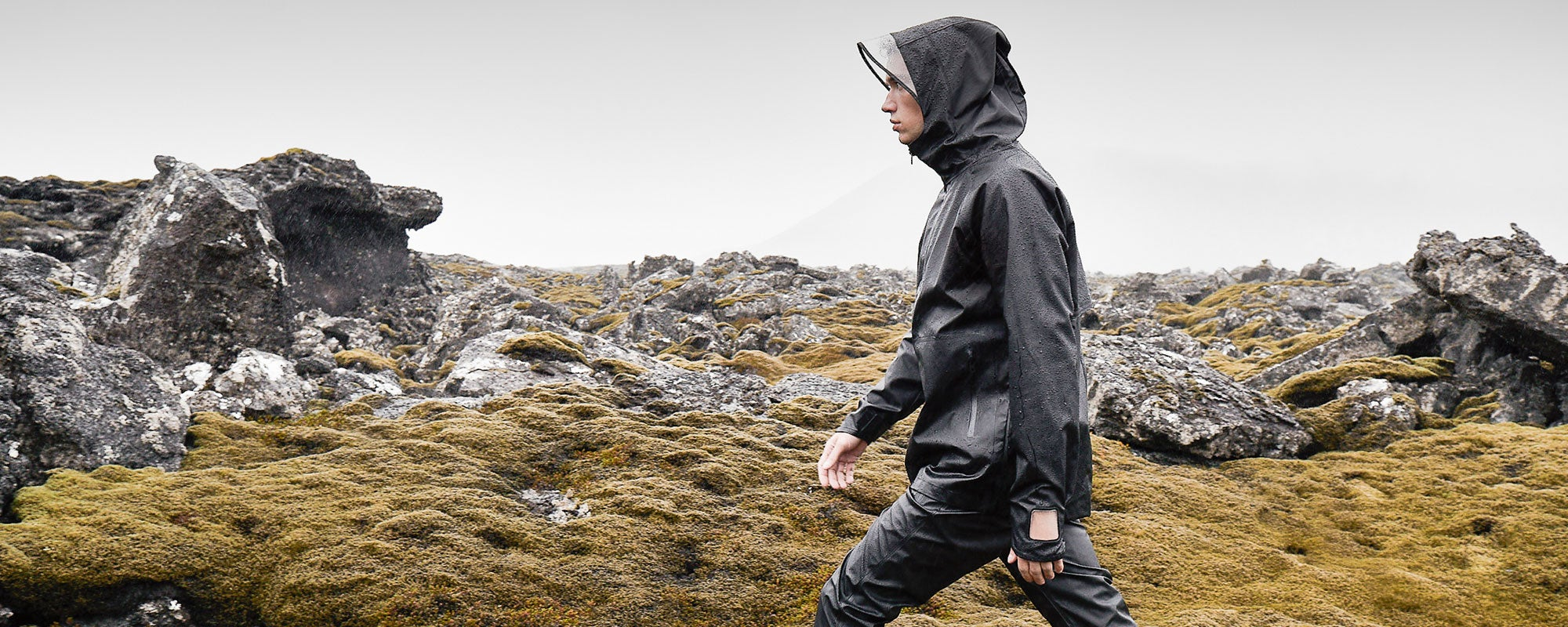 Didriksons AW18 collection Ulrik technical rainset