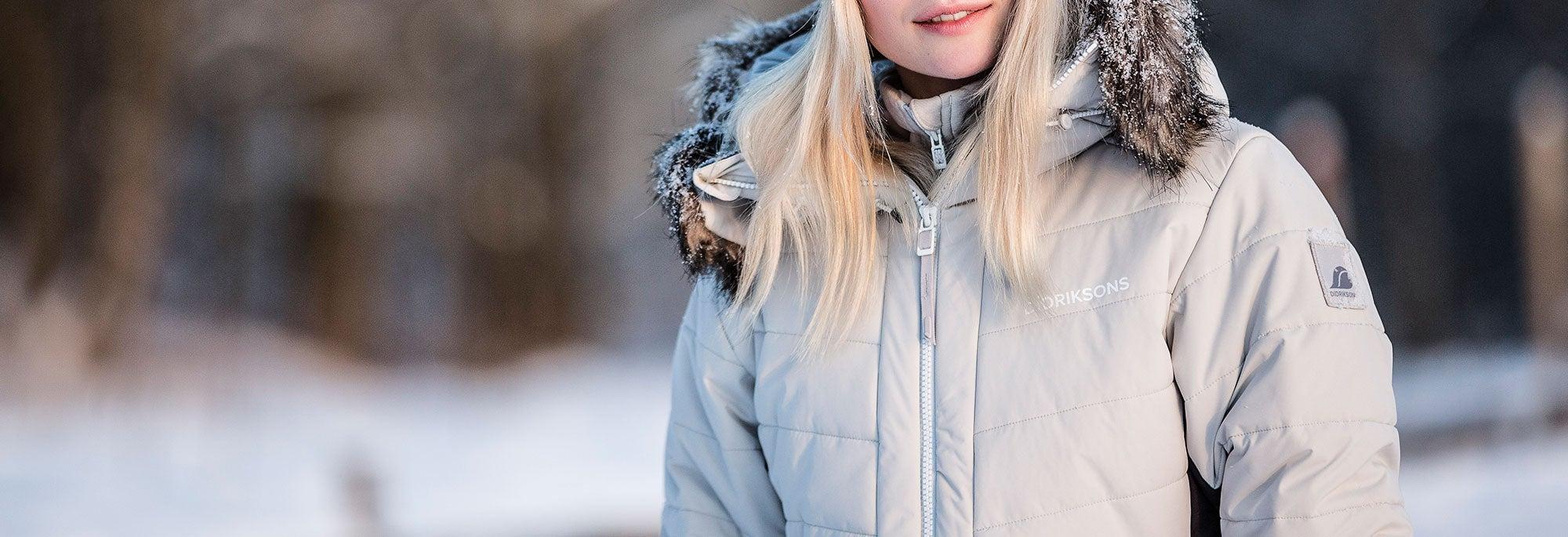 Didriksons vinterjacka i snö ... 4f649de6a80be